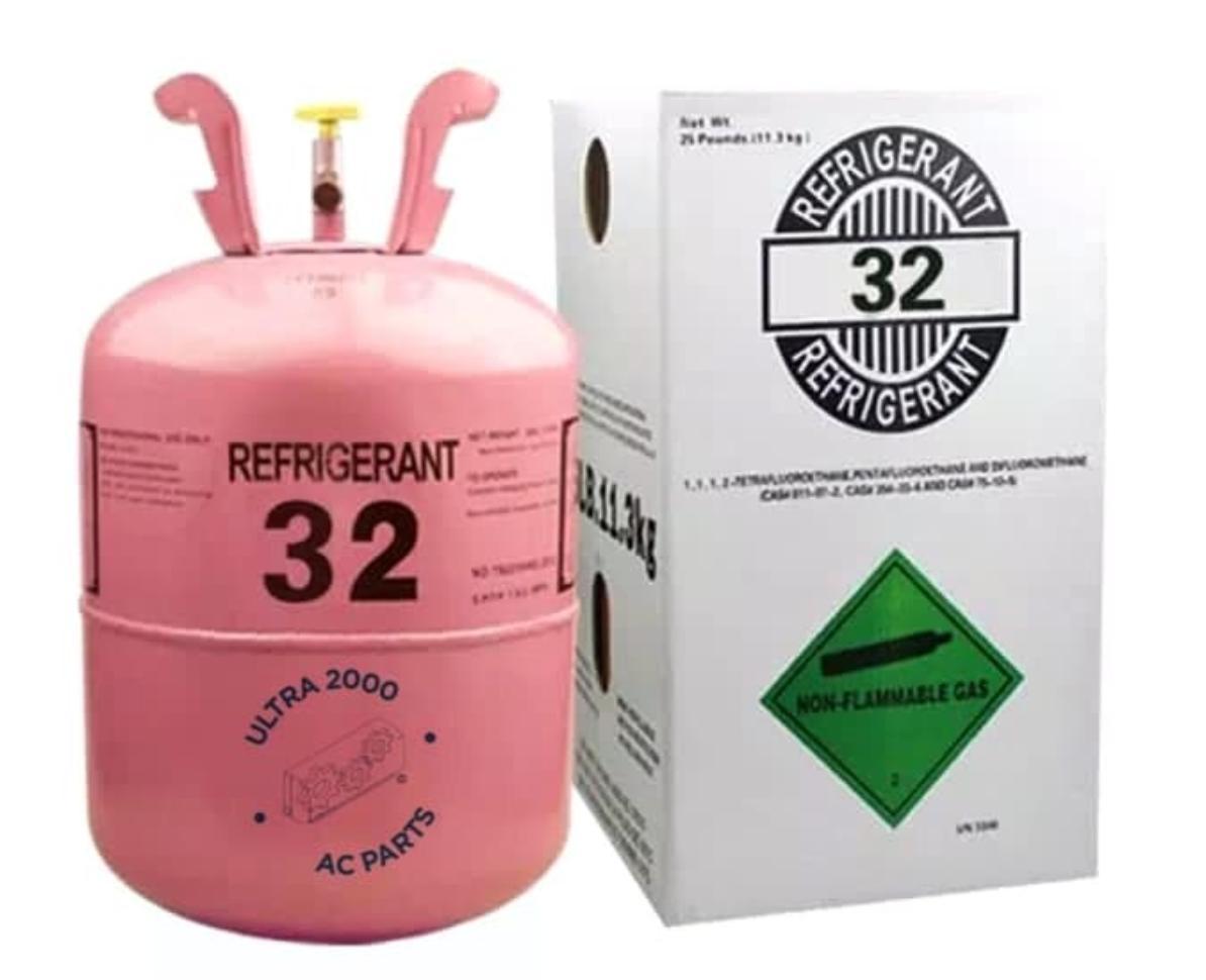 gas aircond r-32