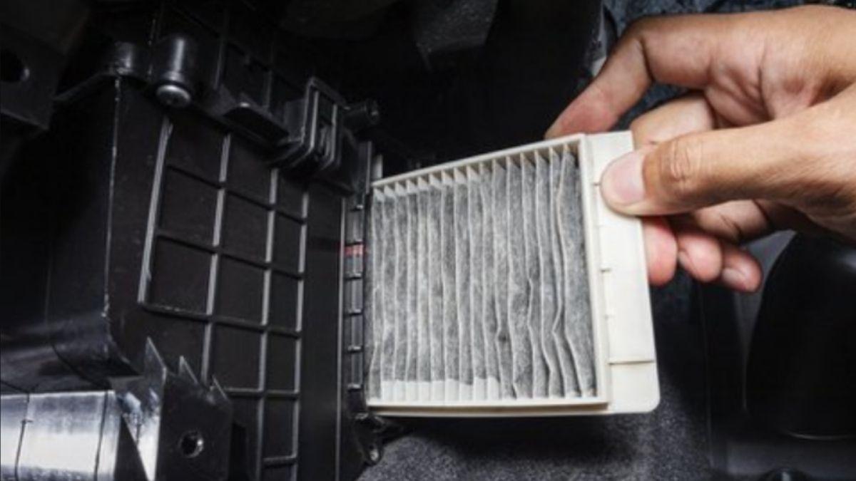 punca aircond kereta berbau Penapis aircond kotor